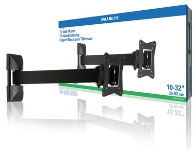 "TV wall mount full motion 2-way 10-32"" / 25-82 cm 30 kg"