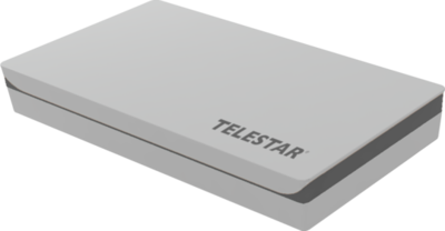 Telestar Digiflat-1 vlakantenne single grijs