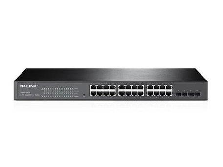 TP-LINK T1600G-28TS Managed L2/L3/L4 Gigabit Ethernet (10/100/1000) Zwart 1U