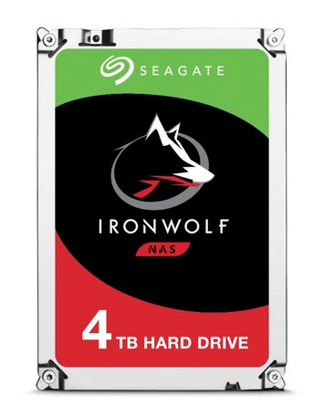 Seagate IronWolf ST4000VN008 interne harde schijf 3.5