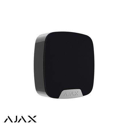 Ajax HomeSiren, zwart, draadloze binnensirene
