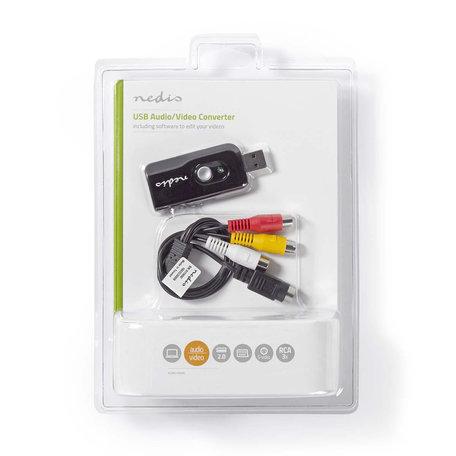 Video-grabber | A/V-kabel / scart | Inclusief software | USB 2.0