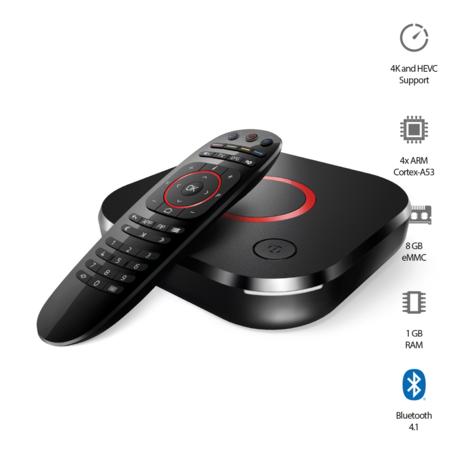 MAG424 IPTV/OTT ontvanger - 4K&HEVC - Linux OS