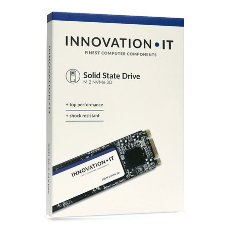 Innovation IT 00-512111 internal solid state drive M.2 512 GB PCI Express 3D TLC NVMe