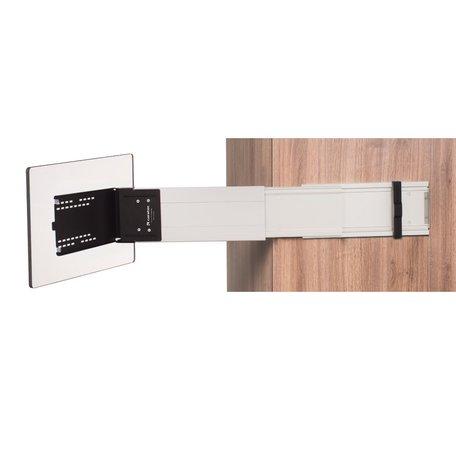 Caratec Flex CFA102L zijdelingse uitschuifbare tv-beugel