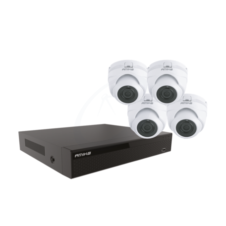 Amiko Home Compleet Cameras systeem 5MP