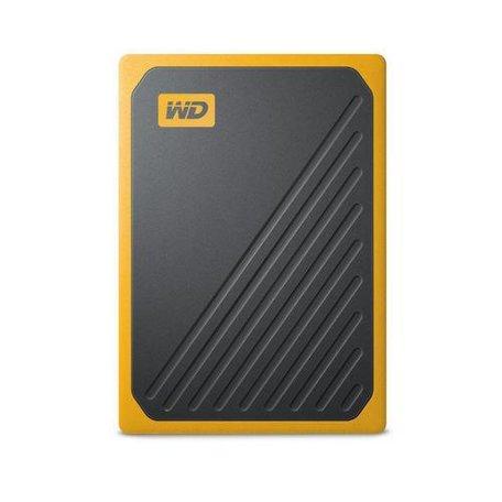 Western Digital My Passport Go 500 GB Zwart, Geel