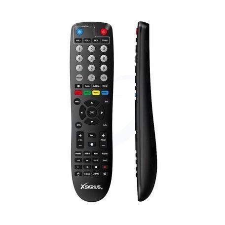 Xsarius Q2 - Afstandsbediening - Tv programmeer functie