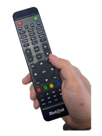 Mutant HD 500c/530c/1100/1200/1265/1500 en HD51 afstandsbediening