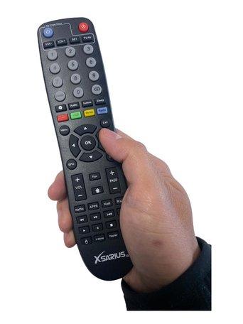 Xsarius Q1 - Afstandsbediening - Tv programmeer functie