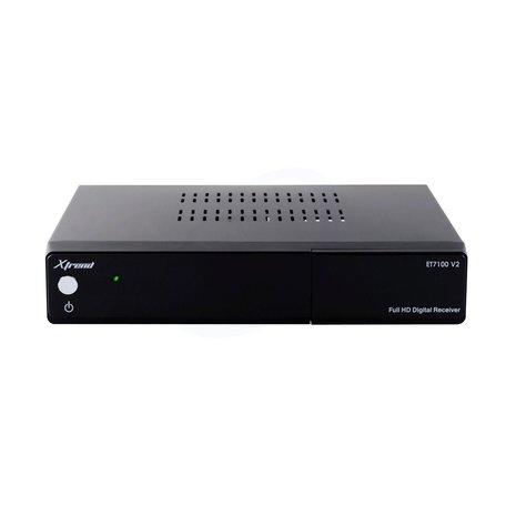 Xtrend ET7100 V2 HD 1x DVB-C/T2 Enigma2 Open Linux