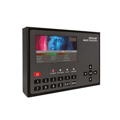 Amiko Multitracker 3 Professional Hybrid DVB Meter 5