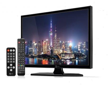 Telesystem 22 inch LED09 DVB-T2/S2 HEVC DVB-T2/S2 HEVC 12v