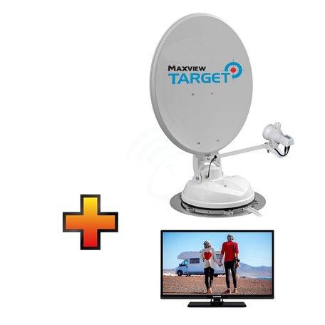 Maxview Target + GRATIS Nikkei 22 inch TV