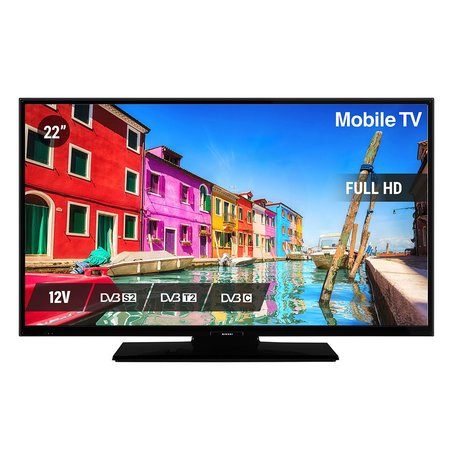 Nikkei NL22FMBK 22inch FULL HD LED TV HEVC H.265