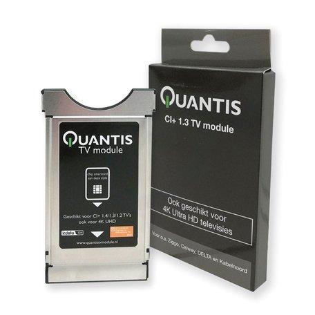 Quantis CAM module 1.4/1.3/1.2 - Geschikt voor Ziggo, Caiway, Delta en KabelNoord - Zwart
