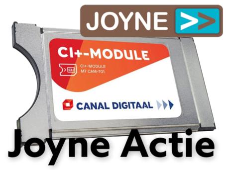 CanalDigitaal CI+ module met geïntegreerde smarcard (Alleen Joyne Abonnees)
