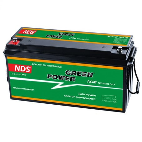 NDS GREENPOWER Service Accu AGM 12V 150Ah