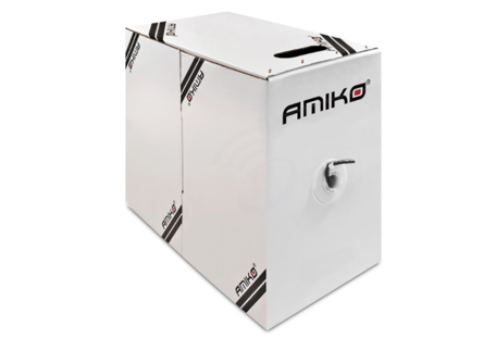 Amiko Cat5e FTP CCA 305 FTP 1 GBPS Foil shielded 305 Meter