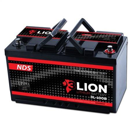 NDS 3LION Lithium Accu 12V-100Ah 3L-100B Ducato