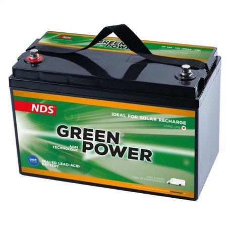 NDS GREENPOWER Service Accu AGM 12V 120Ah