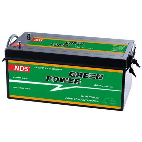 NDS GREENPOWER Service Accu AGM 12V 250Ah