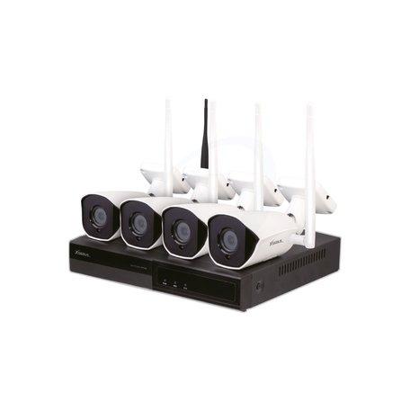 Xsarius WiFiCam 4FHD draadloze beveiligingscamera set - 1080p - IP66