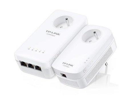 TP-LINK AV1200 1200 Mbit/s Ethernet LAN Wifi Wit 2 stuk(s)