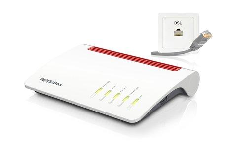 FRITZ! Box 7590 draadloze router Gigabit Ethernet Dual-band (2.4 GHz / 5 GHz) 3G 4G Wit