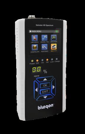Blueqon BSF-700 Satmeter HD Spectrum Satellietmeter Satfinder