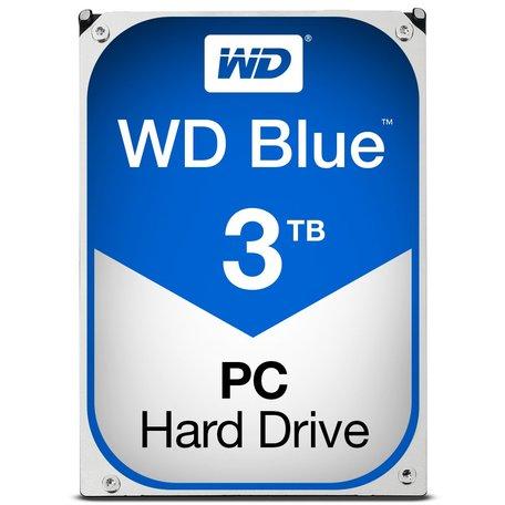 Western Digital Blue 3TB - 5400RPM - 64MB - SATA