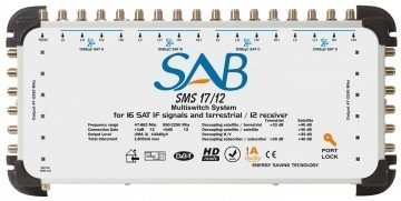 SAB Multiswitch 17 in /12 out