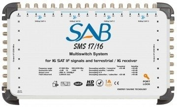 SAB Multiswitch 17 in /16 out