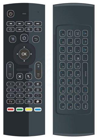 Universele 3in1 2,4 GHz Air Mouse & Draadloze Toetsenbord