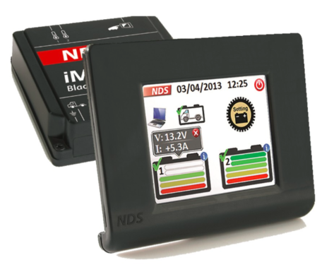 NDS IM12-150w iManager 12v 150A met wireless touchscreen