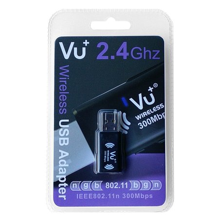 VU+ 300 Wireless LAN USB adapter incl. WPS setup