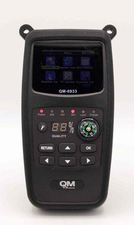 QM HD Satellietmeter met Satelliet Herkenning
