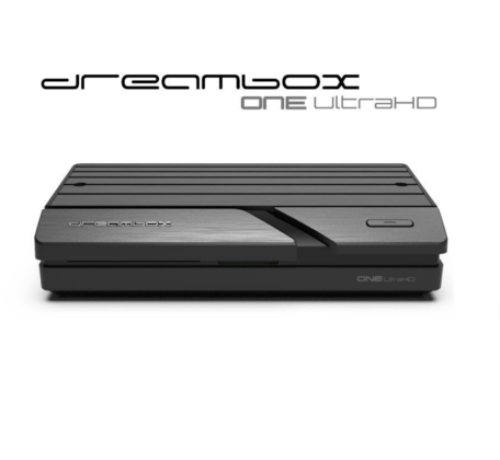 Dreambox One Dualboot Enigma2 Android DVB-S2 4k Sat Receiver