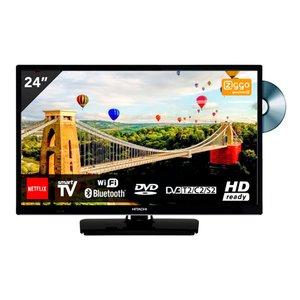 Hitachi 24HE2003 24 inch Smart TV met DVD en WiFi