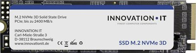 SSD Innovation IT 256GB NVMe 2000MB/s read 1200/MB/s