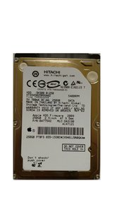 "HDD Hitachi PULLED Apple / 250GB / 2,5"" / 5400 /  SATA"
