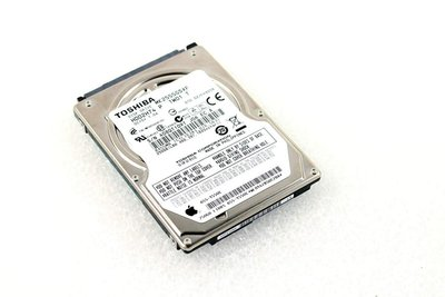 "HDD Toshiba PULLED Apple / 250GB / 2,5"" / 5400 /  SATA"