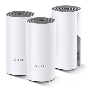TP-LINK Deco E4 (3-pack) Dual-band (2.4 GHz / 5 GHz) Wi-Fi 5 (802.11ac) Wit, Grijs 2 Intern