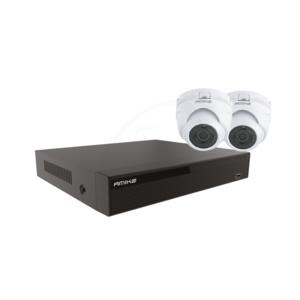 Amiko Home CCTV 4520 POE Kit - 5MP - 2 Camera's