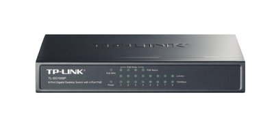 TP-LINK TL-SG1008P Gigabit Ethernet (10/100/1000) Power over Ethernet (PoE) Grijs netwerk-switch