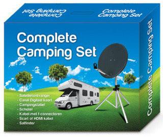 Compleet HD campingset met Amiko Micro HD SE