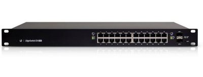 Ubiquiti Networks ES-24-500W Beheerde netwerkswitch L2/L3 Gigabit Ethernet (10/100/1000) Power over Ethernet (PoE) 1U Zwart netwerk-switch
