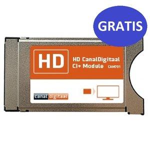 Hoofdkaart CanalDigitaal met CI+ module