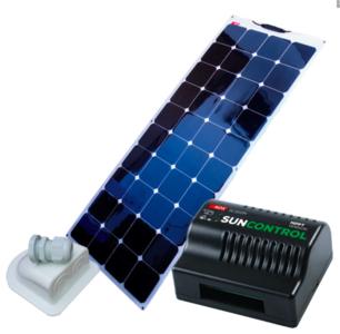 NDS KP140FSCM Flexibel Zonnepaneel Set+Suncontrol MPPT 140W