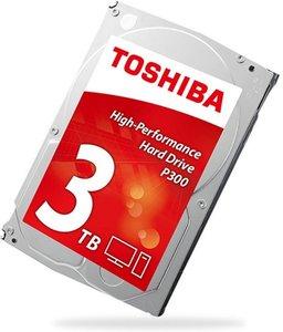 Toshiba P300 3TB HDD 3000GB SATA interne harde schijf
